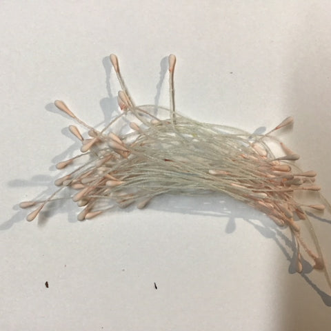 Stamens 2mm - Pink candyfloss - 50 per pack