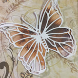 L'Aquarelle butterfly wide belly