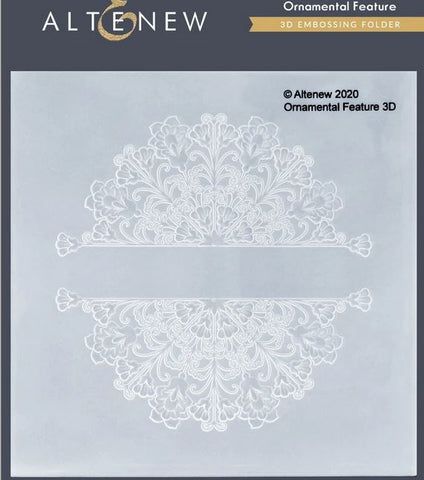 Altenew  - Ornamental feature embossing folder