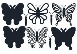 Paper Boutique Butterfly trio PDB1109