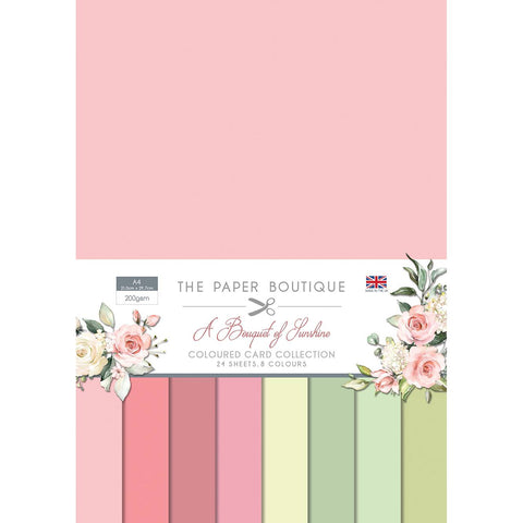 Paper Boutique - Coloured card - Bouquet of sunshine