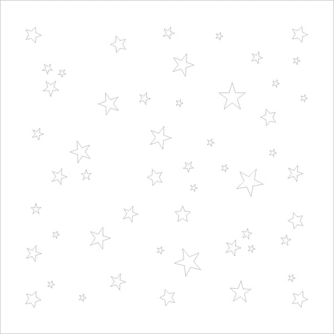 The Purple Magnolia stencil - PM-S002 Tiny stars