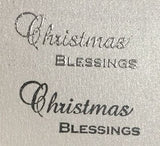 PMS stamp - Christmas blessings