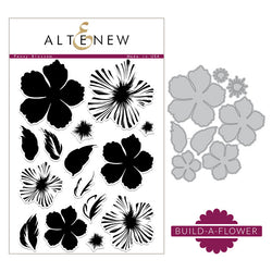 Altenew - Build a flower Peony blossom stamp and die bundle
