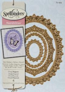 Spellbinders Oval majesty