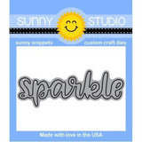SS You were born to sparkle stamp and die set