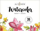 Altenew watercolours - 36 half pan
