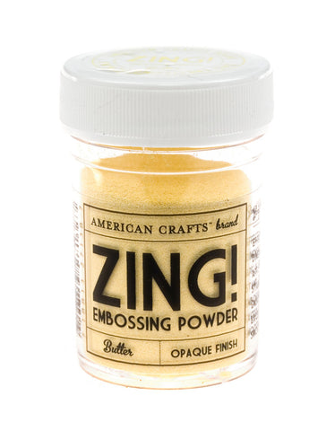 Embossing powder - Zing - Butter