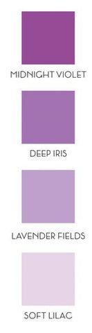 Altenew ink cube set of 4 - Shades of purple