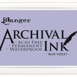 Ranger Archival ink - blue violet