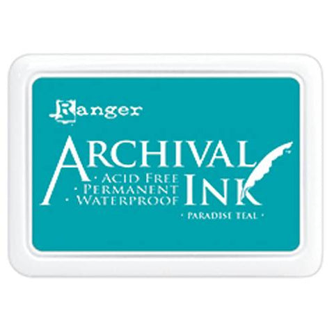 Ranger Archival ink - Paradise teal