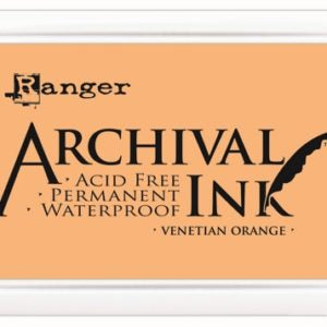 Ranger Archival ink - venetian orange