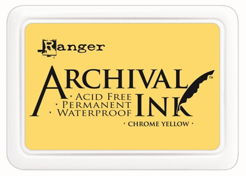 Ranger Archival ink - Chrome yellow