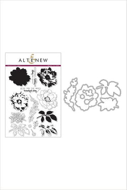 Altenew Beautiful day stamp and die bundle