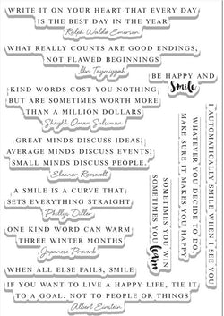 Altenew Beautiful quotes stamp set