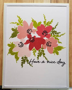 Altenew - Billowing blossom stamp set