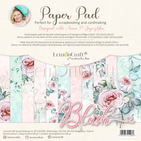 Lemoncraft Blush 15x15 paper pack