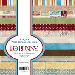Bo Bunny cardmakers paper pack - World travel