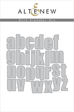 Altenew Bold alpha set - Lower case