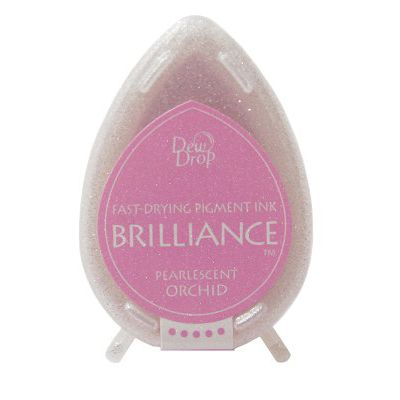 Brilliance dew drop ink pad - Pearlescent orchid