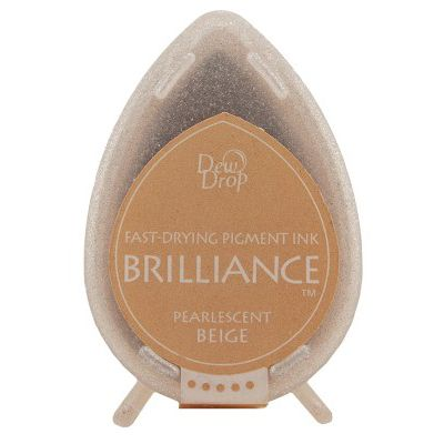 Brilliance dew drop ink pad -  Pearlescent beige