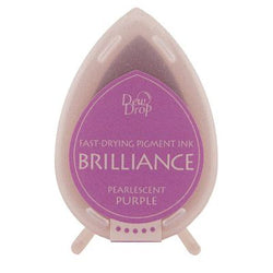 Brilliance dew drop ink pad -  Pearlescent purple