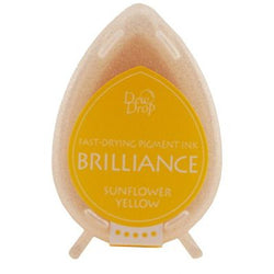 Brilliance dew drop ink pad - Sunflower yellow