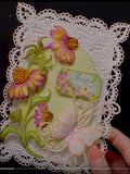 Heartfelt Creations - Backyard blossoms - stamp and dies