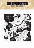 The Ton - Cherry blossoms garden - unmounted rubber stamp