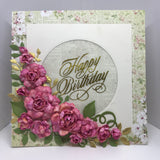 Heartfelt Creations - Classic rose - stamp and die set