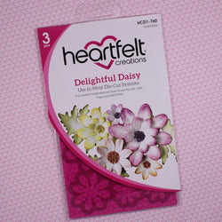 Heartfelt Creations - Delightful daisies - stamp and dies