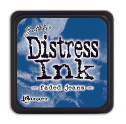 Distress ink mini - faded jeans
