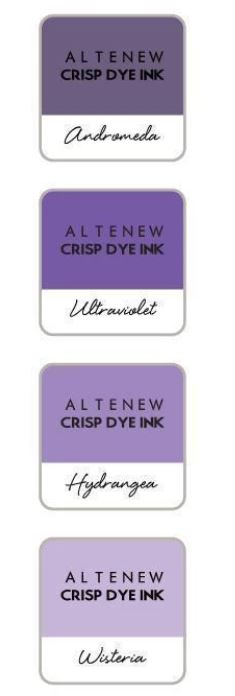 Altenew ink set of 4 - enchanted garden