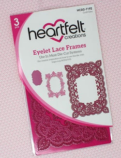 Heartfelt Creations - Eyelet lace frames die - HCD2-7192