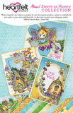 Heartfelt Creations - honey bee maidens - die and stamp bundle
