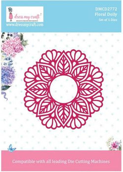 Dress My Craft Floral doily