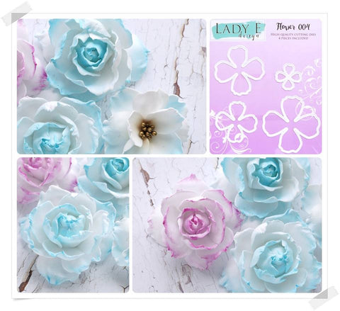Lady E Design Flower 004