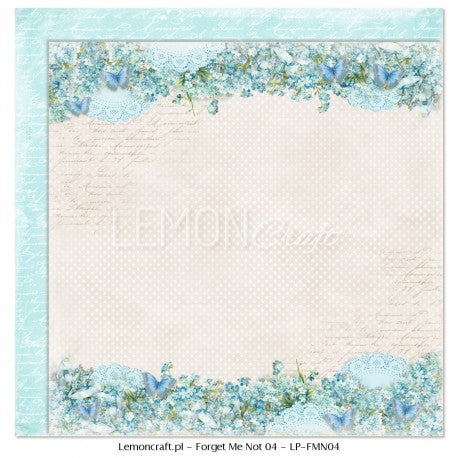 Lemoncraft Forget-me-not - Scrapbook pack