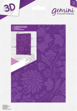 Gemini 3D embossing folder - Country garden