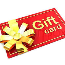 Gift card R100.00