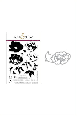 Altenew Hope stamp and die bundle
