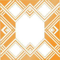 Couture Creations hot foil stamp - Geometric