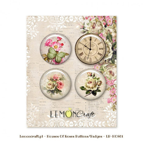 Lemoncraft House of Roses buttons/flairs