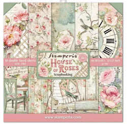 Stamperia House of roses paper pack