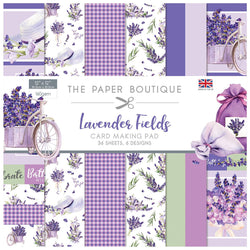 Paper Boutique Lavender fields 30x30cm card-making pack