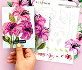 Altenew  - Layering flower die set - lily (pre-order)