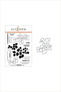 Altenew - Leaf canopy stamp and die bundle
