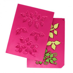 Heartfelt Creations - Leafy accents shaping mould