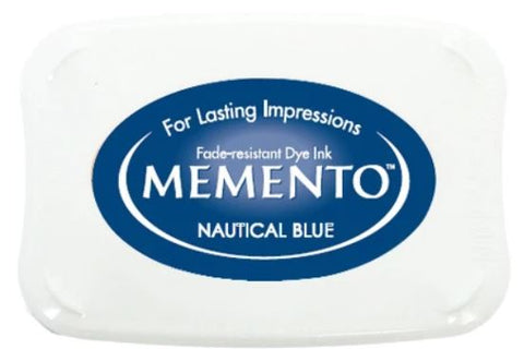 Memento Luxe ink pad - Nautical blue