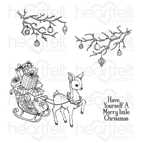 Heartfelt Creations - Merry little Christmas - stamp and dies
